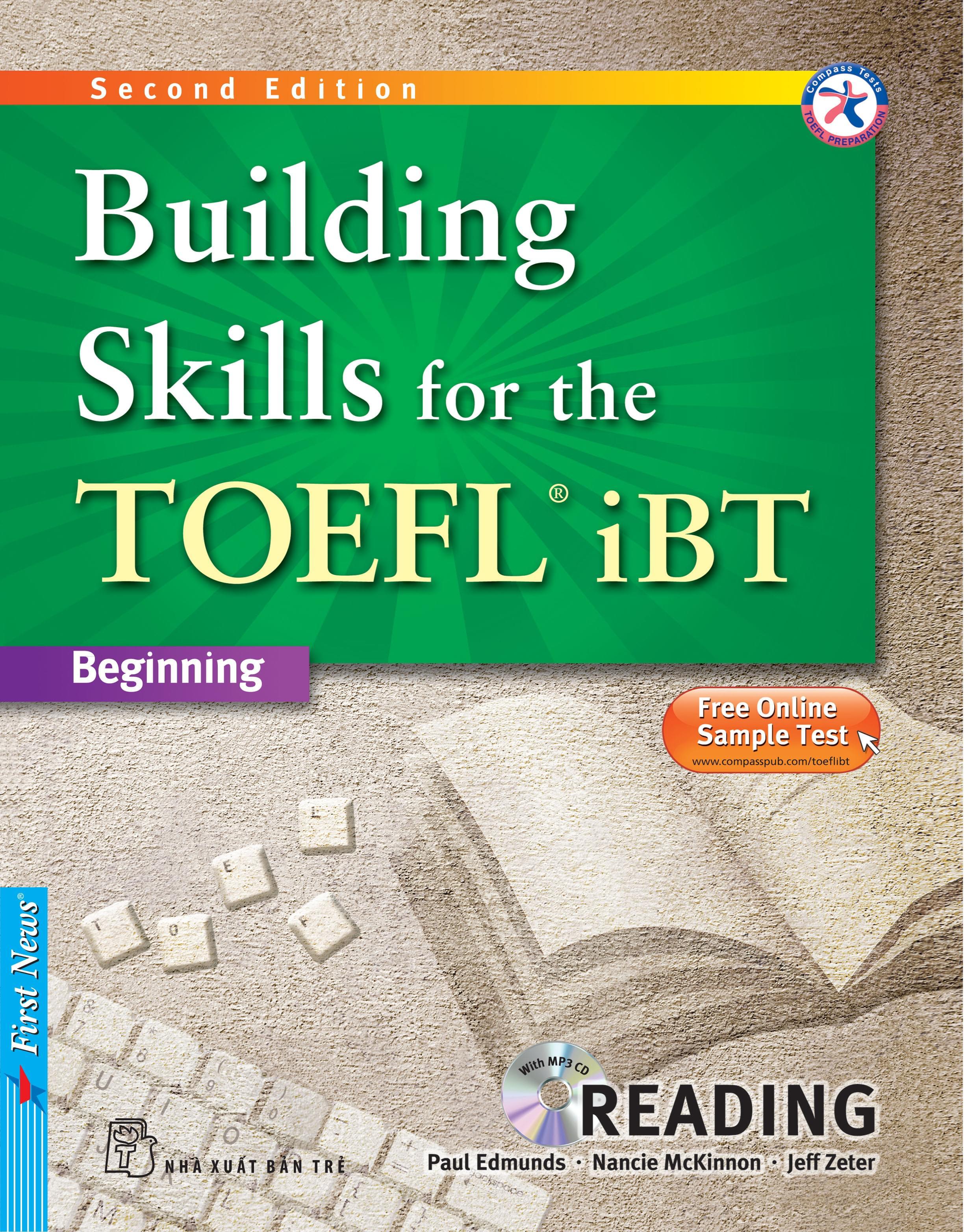 BUILDING SKILLS FOR THE TOEFL IBT - READING (Kèm CD Mp3)