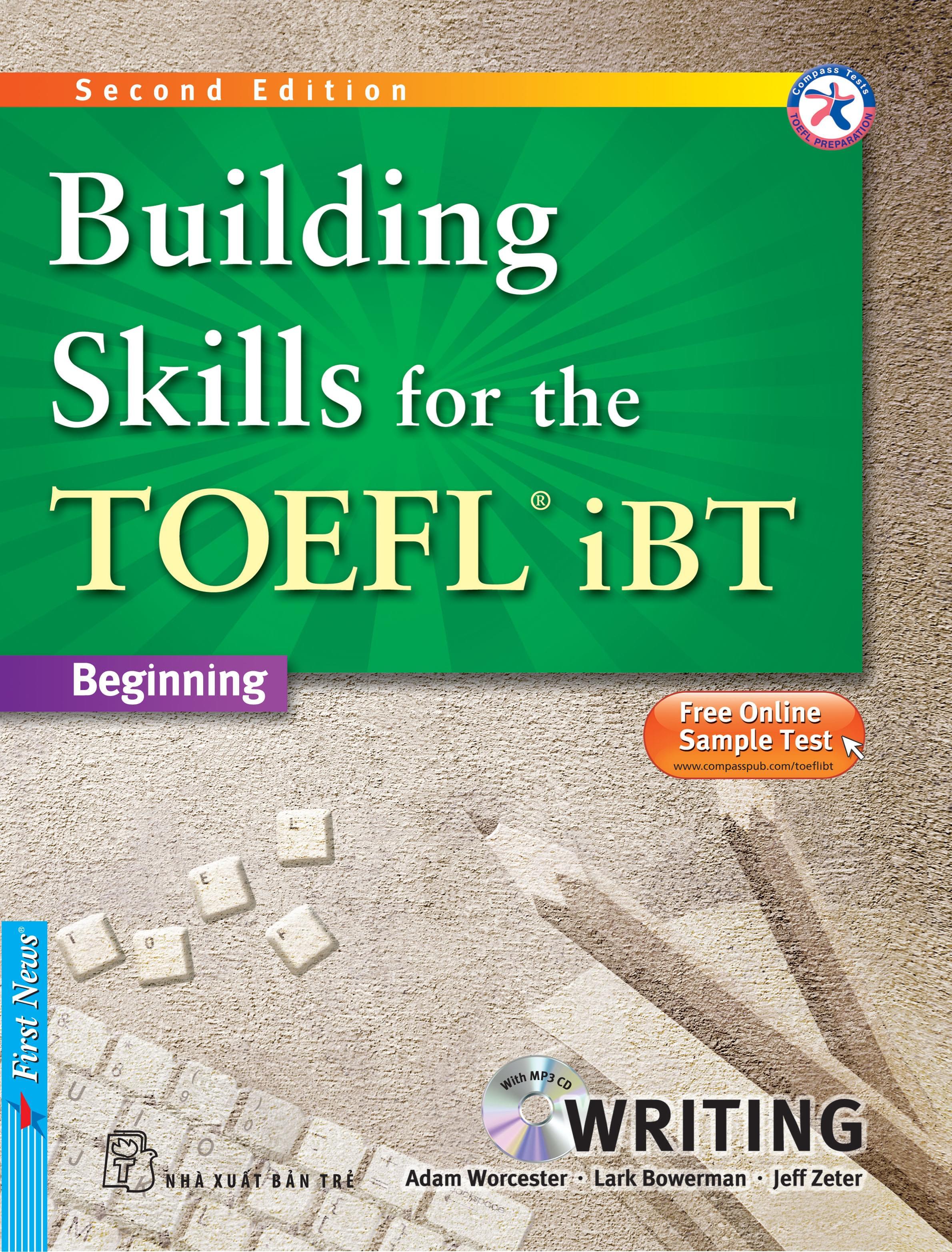BUILDING SKILLS FOR THE TOEFL IBT - WRITING (Kèm CD Mp3)
