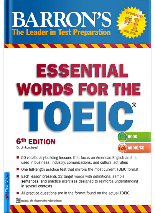 ESSSSENTIAL WORDS FOR THE TOEIC – 6TH EDITION