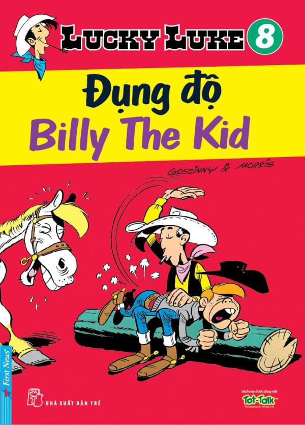 LUCKY LUKE TẬP 8 - ĐỤNG ĐỘ BILLY THE KID